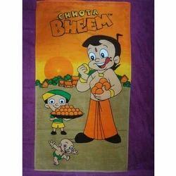 Chota Bheem Printed Terry Towel