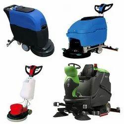 Floor Scrubbing & Polishing Machines
