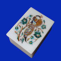 Home Decorative Marble Inlaid Box