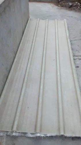 Rectangular Frp Translucent Roofing Sheet Rs 1550 Piece