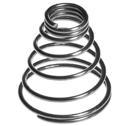High Carbon Steel Industrial Conical Springs