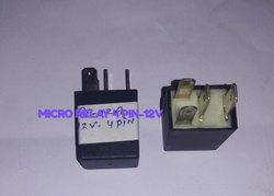 Micro Relay 4 Pin 12v