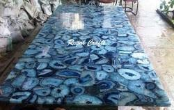 Agate Gemstone Table Top