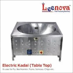 Leenova Electric SS Frying Kadai