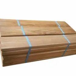 Brown Ivory Teak Wooden Plank