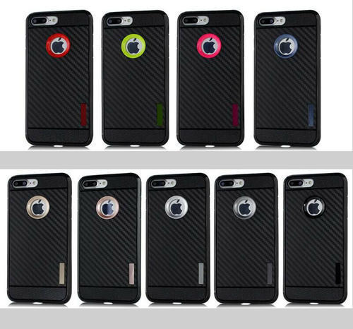Carbon Fibre Finish Back Case For Samsung Galaxy On8 (2016)