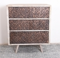 Natural Fibres Wooden Modern Bar Cabinet