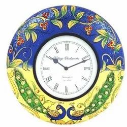 Next Creations Wood Wooden Decorative Clock, Shape: Round, Packaging Type: Box