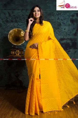Chanderi Self Buti Saree