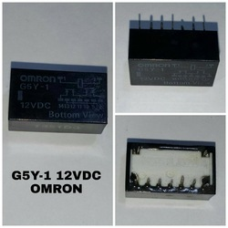 Omron Low Signal Relay G5Y-1-DC12 (12V / 0.25A)