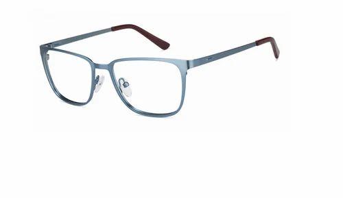 3fe41ed01ee9 Blue Maroon Full Rim Rectangle Medium Eyeglasses at Rs 1000  piece ...