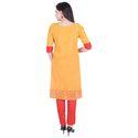 Lavanya Cotton Designer Work Kurta with Straight Pant