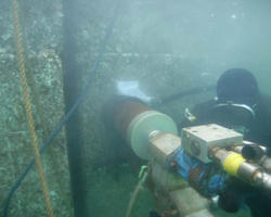 Under Water Cutting Service