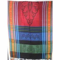 Viscose Yarn Dyed Jacquard Shawls