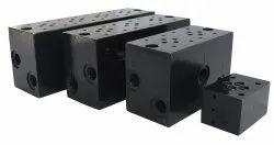 MS Blackening Hydraulic Manifold Block, Model Name/Number: Standard, 210
