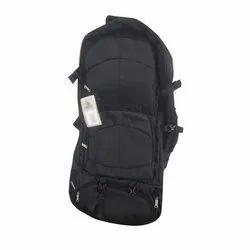 Polyester Black Trekking Bag