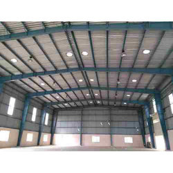 Mild Steel Terrace Roofing Shed