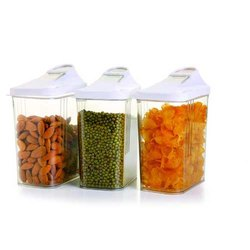 Plastic Food Storage Easy Flow Container 750 ml, Box