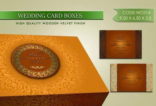 Box And Wedding Invitation Card Designs