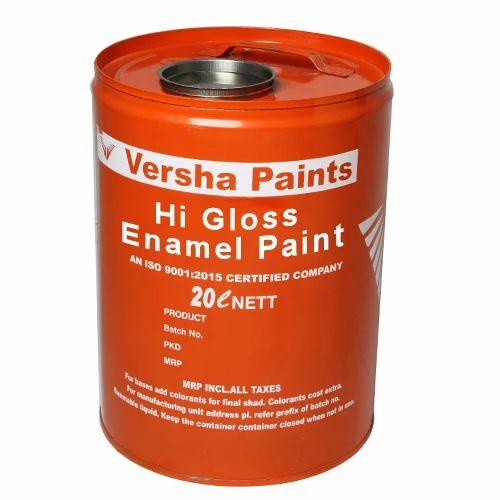 Golden Brown Enamel Paint