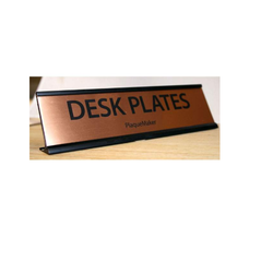 Copper Name Plates