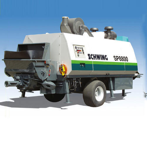 Schwing SP 8800 Portable Concrete Pump - Schwing Stetter (India
