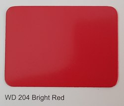Wd-204 Bright Red ACP Sheets