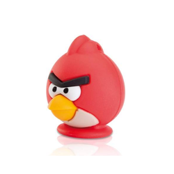 Emtec Red Angry Bird USB 2.0 Flash Drive, Memory Size: 32 GB
