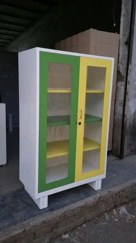 3 Shelves Office Cupboard, Size: 48x30x18 Inch
