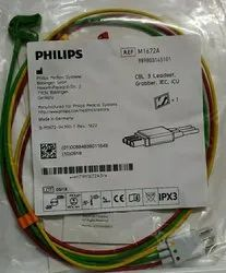 Philips M1672A ECG 3 Lead Set