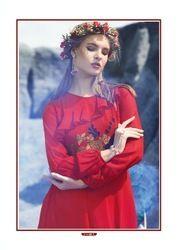 Royal red kurti