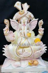 White Marble Lord Ganesha