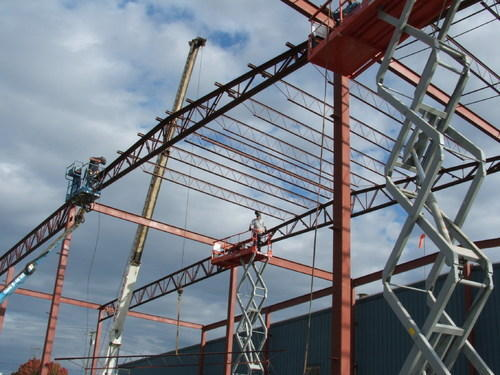 Steel Structure Erection Work Manufacturer From Pune