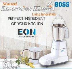 White Boss EON Mixer Grinder, for Wet & Dry Grinding, 501 W - 750 W