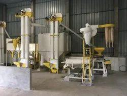 Semi Automatic Wheat Flour Mill