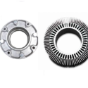 Aluminium Polished Automotive Heat Sinks Pressure Die Casting For Electrical Servo Drives