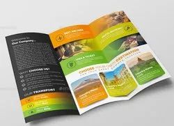Paper Advertising Brochure, Size: 15 X 9 Inch