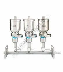 P-lok Stainless Steel Sterility Test Unit