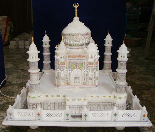 Indoor Square Marble Model Taj Mahal For Home Rs 18