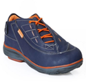Leather Red Chief Mens Navy Blue Casual Shoes