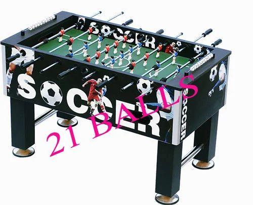Soccer Table Black Diamond