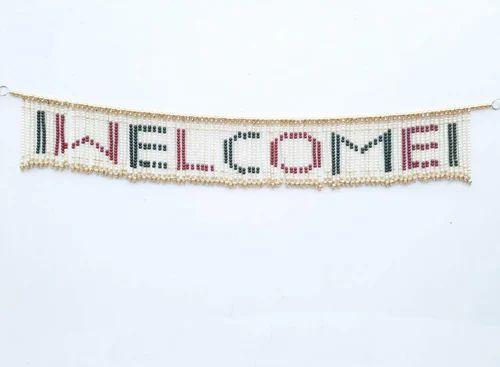 LOF Decorative Welcome Door Hanging Toran Handcrafted with