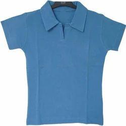 Half Sleeve Womens Polo T-Shirt