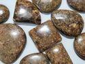 Bronzite Stone Cabochon Loose Gems