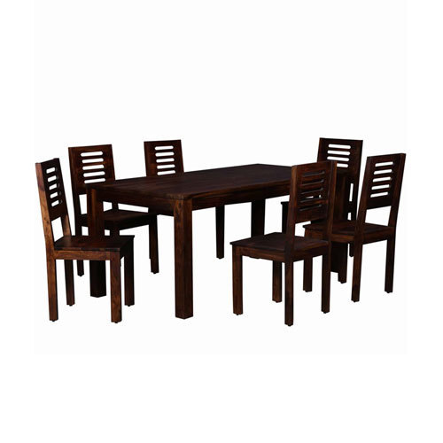 e152cba3980 Brown 6 Seater Wooden Dining Table