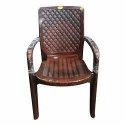 Italian Cushion Plastic Chair for In Homes and Resturants