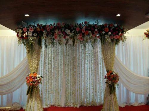 Flower Decoration marriage party flower decoration & reception party flower