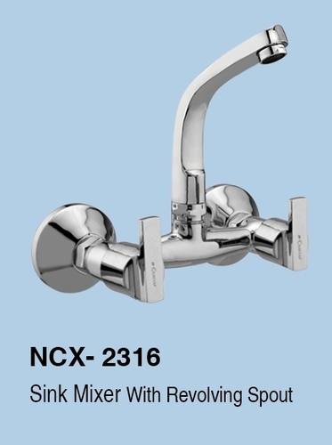 Wall Mounted Brass Sink Mixer, Packaging Type: Single Piece, Model Number: Ncx
