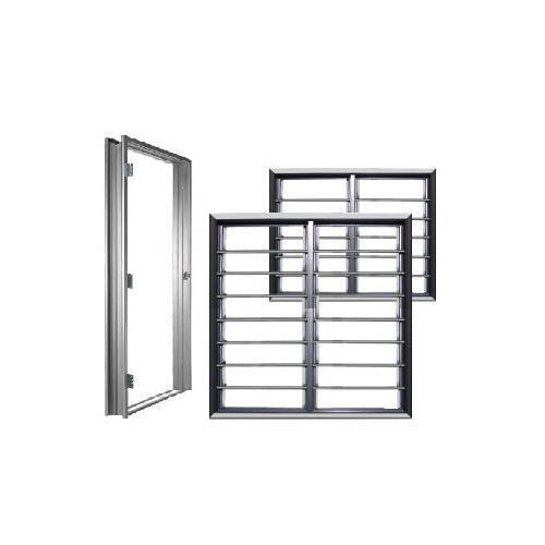 Steel Attached Door Frame With Window, Rs 3500 /unit, Galvin India ...