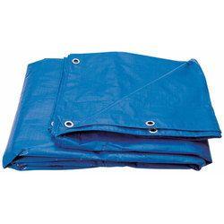 蓝色多层交叉层压Silpaulin篷布,厚度:0.1mm - 0.15mm,包装类型:卷